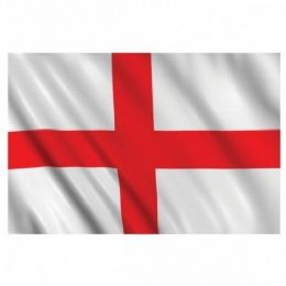 5ft x 3ft Fabric Flag of St. George's Cross - St George Day Flag of England